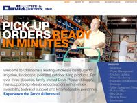 Website: Davis Pipe and Supply